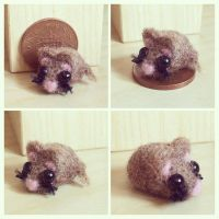 Felted Mouse by SweetlingsDream