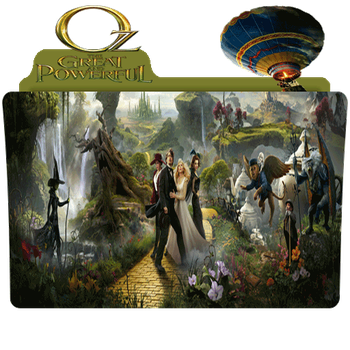 Oz the great and powerful Folder by DTMee