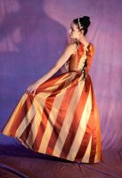 striped gown10 by DigitalAlchemy-Stock