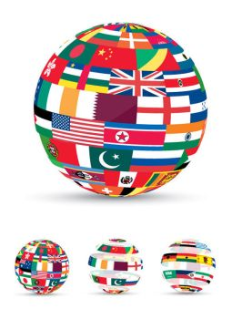 3D Flag World by femographi