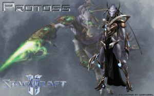 Protoss wallpaper by mornmeril