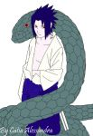 Sasuke e a Cobra do Orochimaru by morticia-adams