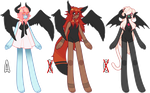 Winged adopts (OPEN) by sutorumie