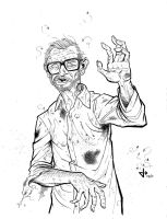 George Romero of the Dead by J-WRIG