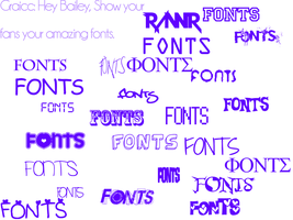 Fonts by FKandFriends