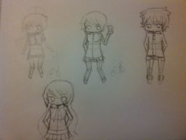 Chibis by Nuyy93
