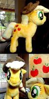Nug's AppleJack Plush Commission by Cryptic-Enigma