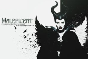Maleficent Wallpaper by kiznova