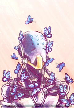 I Dreamt I Was A Butterfly by CaimRyo