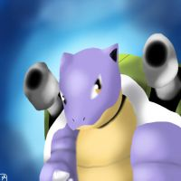 Shiny Pkdex Challenge-#009 Blastoise by Shinkou-san