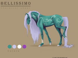 Bellissimo - Character Sheet by Nala-l-Taiir