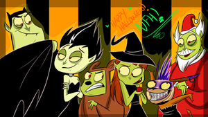 Happy Halloween NFH by VivzMind