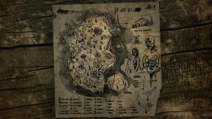 The Forest Map Wallpaper 4 by manbearpagan