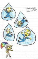 It's Raining Men by tangledupxinplaid