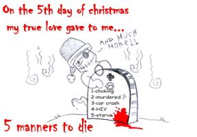 On the 5th day of christmas by skulker87