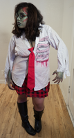Zombie School Girl 17 by Angelic-Obscura