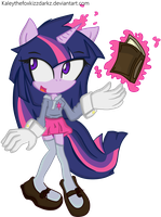 -Twilight Sparkle- by KaleythefOxkizZdaRkz