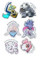 Gen 6 Stickers 3 by hajimikimo