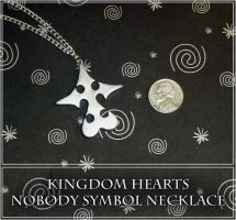 Kingdom Hearts Nobody Necklace by YellerCrakka