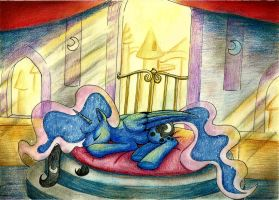 Sleeping till sunset by Viv-chibi-love