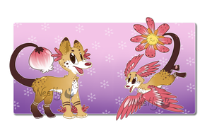 Draw to Adopt - Plummet Pup 'Dandy Blush' [OPEN] by Nestly