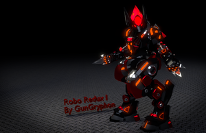Robo Redux WIP I by GunGryphon