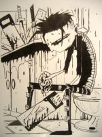 Johnny The Homicidal Maniac by Darshanrein
