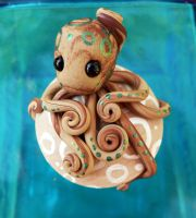 Octopus Closet Knob by BlackMagdalena