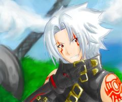 Art Trade- Haseo by Haskei