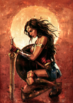 Wonder Woman by VarshaVijayan
