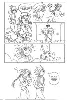 Comic Meme: Final Fantasy VII by laurbits