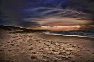 Lakes Entrance Sunrise 03 by Braunaudio