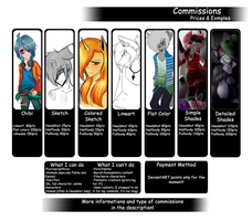 Points Commissions Info [OPEN] by StupidUsagiSan