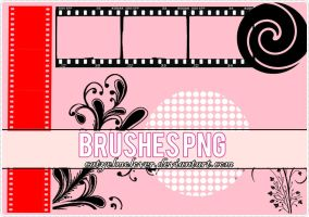 Brushes PNG by CatyElmolover
