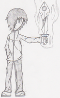 This is a drawing by Cobalt-Ace