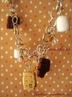 S'mores Bracelet by Lanaleiss