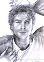 Ian Somerhalder DamonSalvatore by sharmz