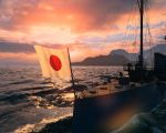 Flag of the rising Sun by kungfuryan2