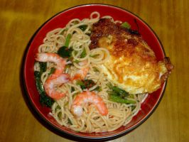 my cooking-cold noodles by sinammonite