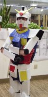 Mobile Suit Gundam RX-78-2, Cardboard Edition by Grimm697