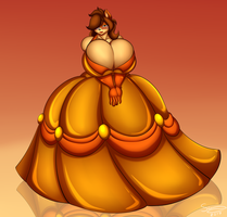 Superia Golden Gown by XSuperiX