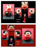 MCR as duckies 2 by maskedzone