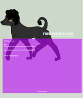 Free to use poodle journal skinn by Hippie30199