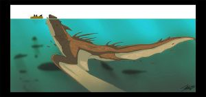Concept - Spotted Sea Serpent by KABren
