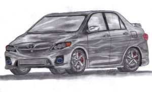 Commission: '11 Toyota Corolla CE by Mister-Lou