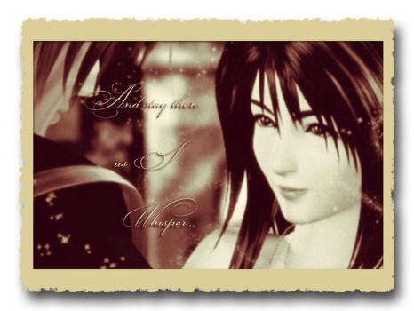 ~A Moment to Remember~ (Squall and Rinoa) FFVIII by JayKaye