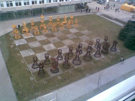 The bigest chess in the world by egliukse