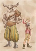 The Iron Bull and the elf by Lilli92WGMC