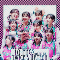 250516  Pack PNG Twice's NaYeon by ANNRV