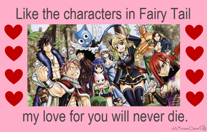Fairy Tail Valentine: Love Never Dies by FrozenClaws